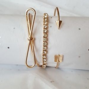Jewelry - 3pc gold braclets